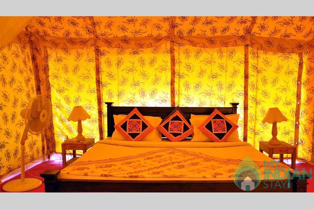 G2 in a Tents in Jaisalmer, Rajasthan