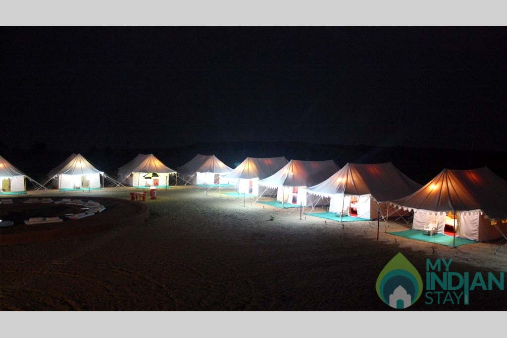 G3 in a Tents in Jaisalmer, Rajasthan