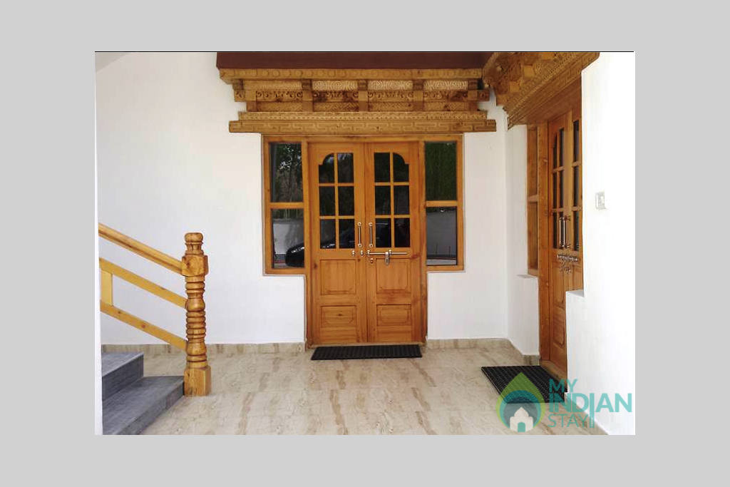 4Ladakhi Style Entrance in a Hotel in Leh, Jammu and Kashmir