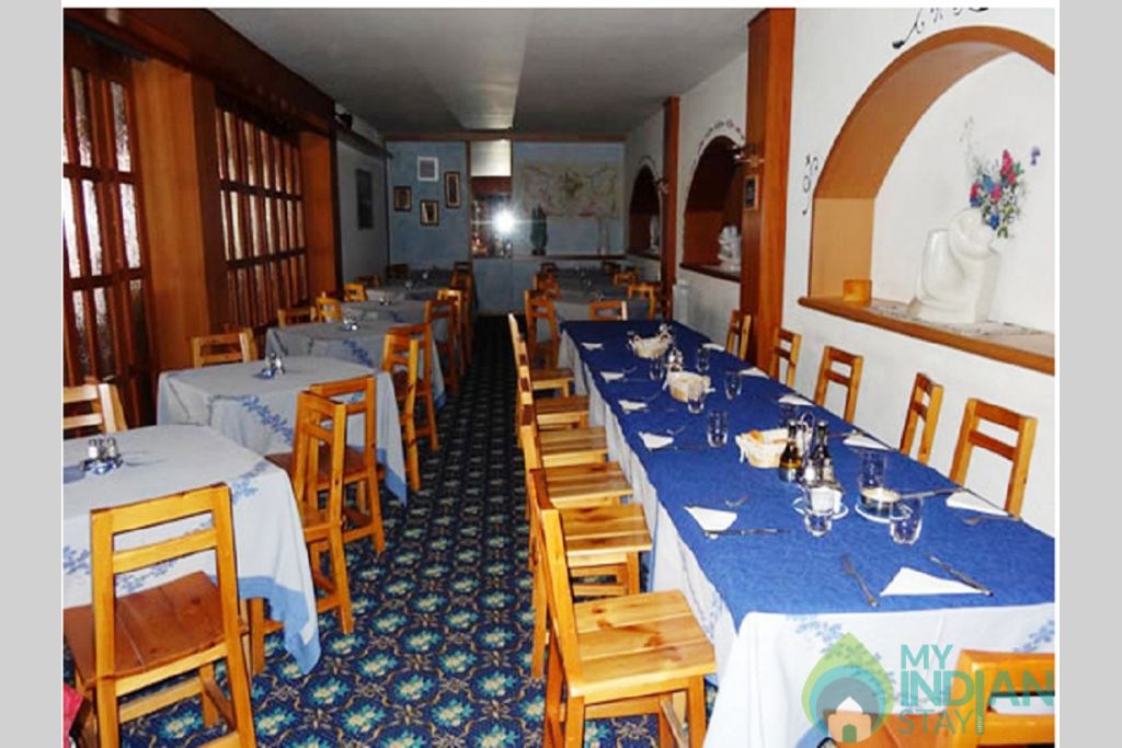 Restaurant in a Hotel in Leh, Jammu and Kashmir
