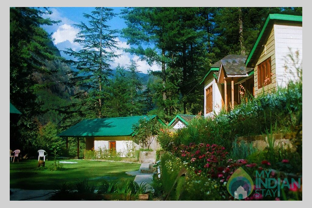 Overall View4 in a Cottage/Huts in Kasol, Himachal Pradesh
