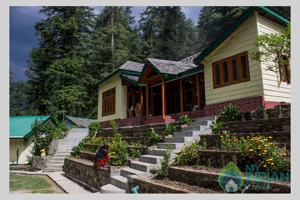 Overall View in a Cottage/Huts in Kasol, Himachal Pradesh