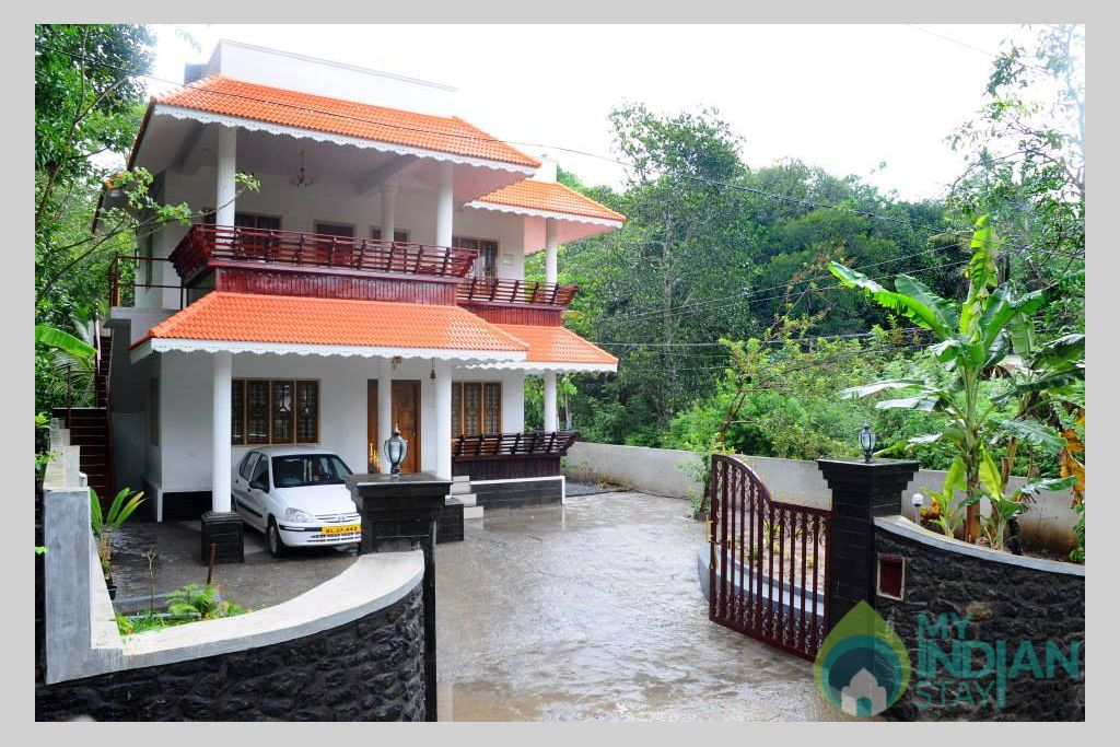 External View in a HomeStay in Kumily, Kerala