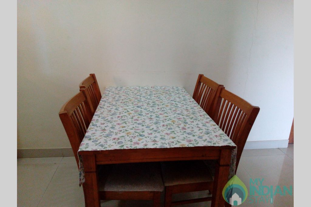 Dining Table-2 in a Serviced Apartment in Dona Paula, Goa