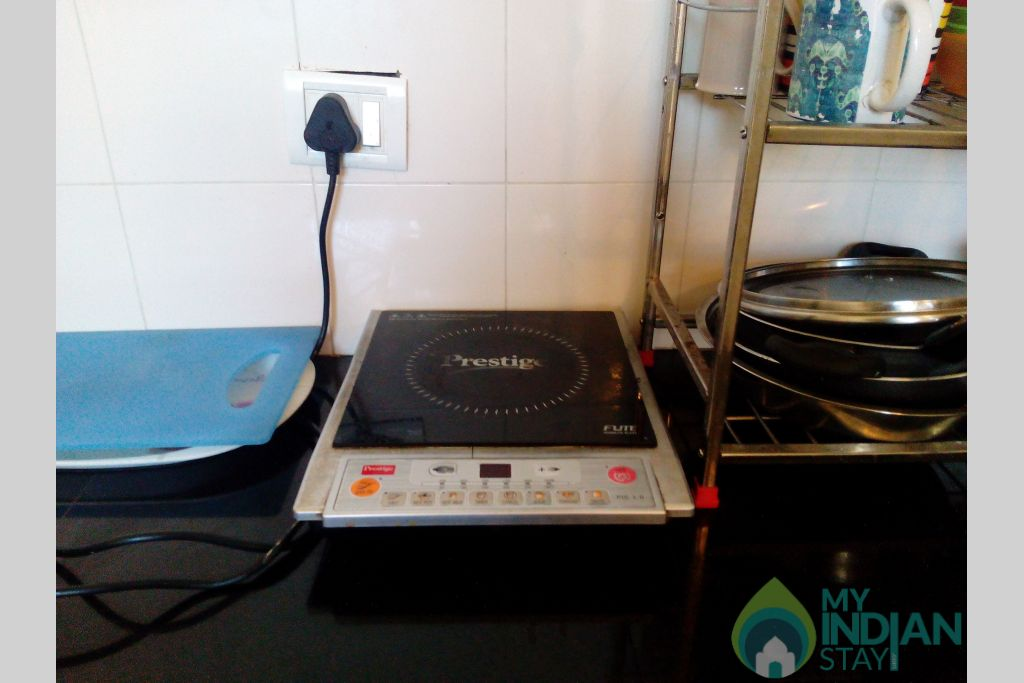 Kitchen Appliances-3 in a Serviced Apartment in Dona Paula, Goa