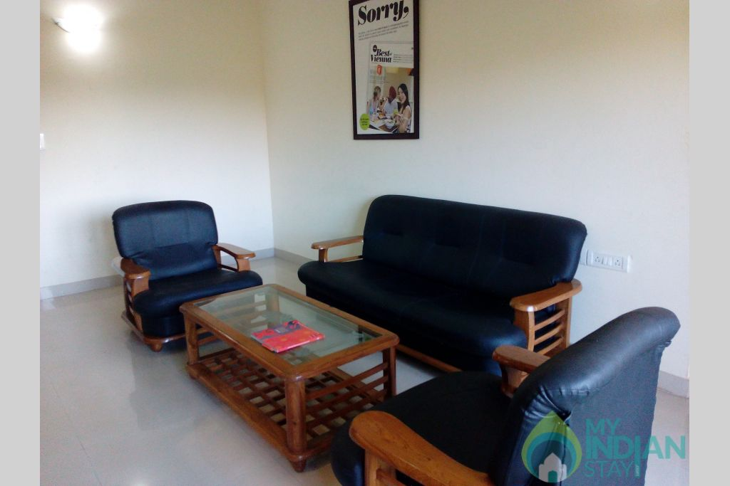Sitting Area-5 in a Serviced Apartment in Dona Paula, Goa