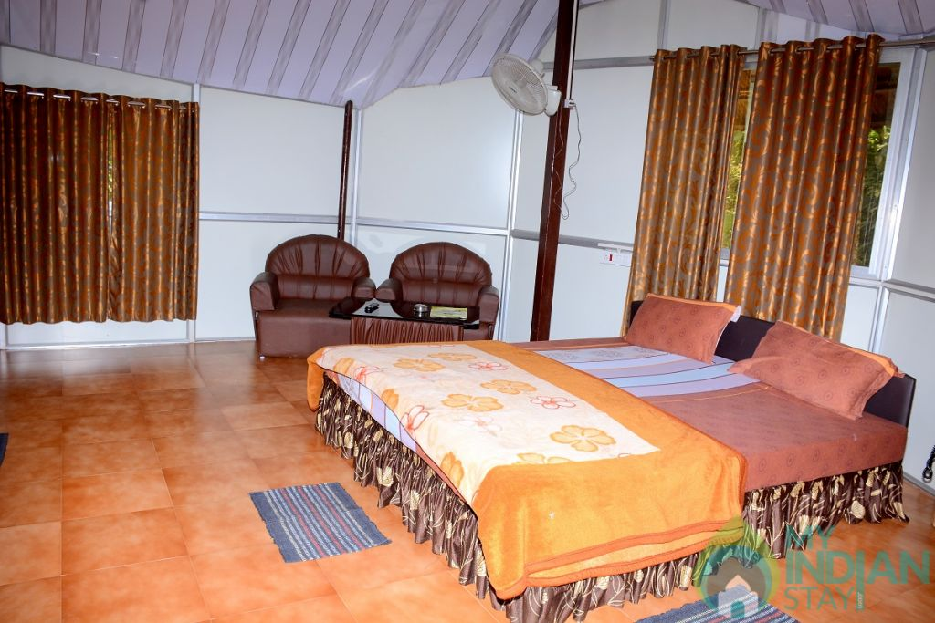 Executive Cottage Bed Room in a Cottage/Huts in Madikeri, Karnataka