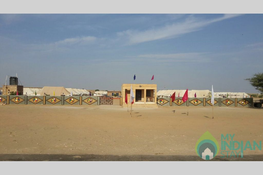 1e7ce365-33a4-41d6-84ab-6431565051a7 in a Tents in Jaisalmer, Rajasthan