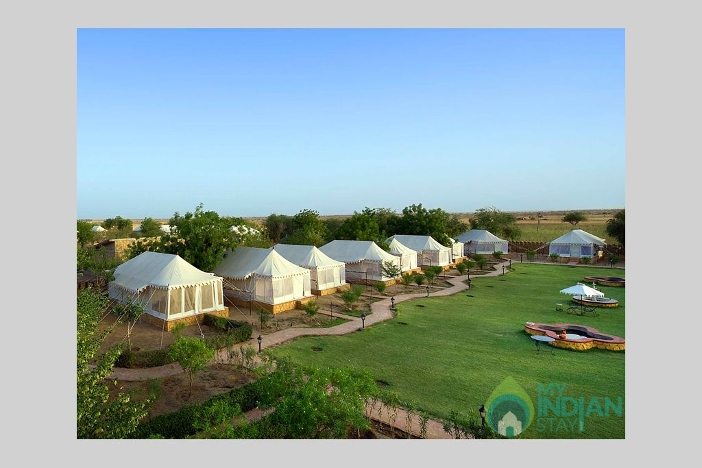 1-Camps-in-Rajasthan in a Cottage/Huts in Jaisalmer, Rajasthan