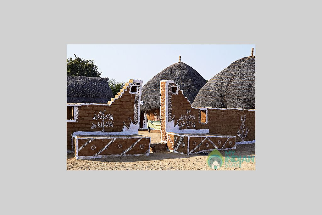 Dhani-In-Resort in a Cottage/Huts in Jaisalmer, Rajasthan