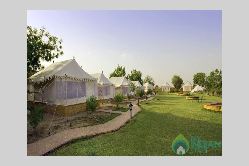 mirvana-all-view in a Cottage/Huts in Jaisalmer, Rajasthan