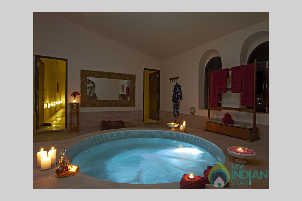 Mirvana-spa-room-2 in a Cottage/Huts in Jaisalmer, Rajasthan