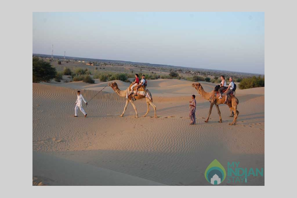 visit-desert in a Cottage/Huts in Jaisalmer, Rajasthan
