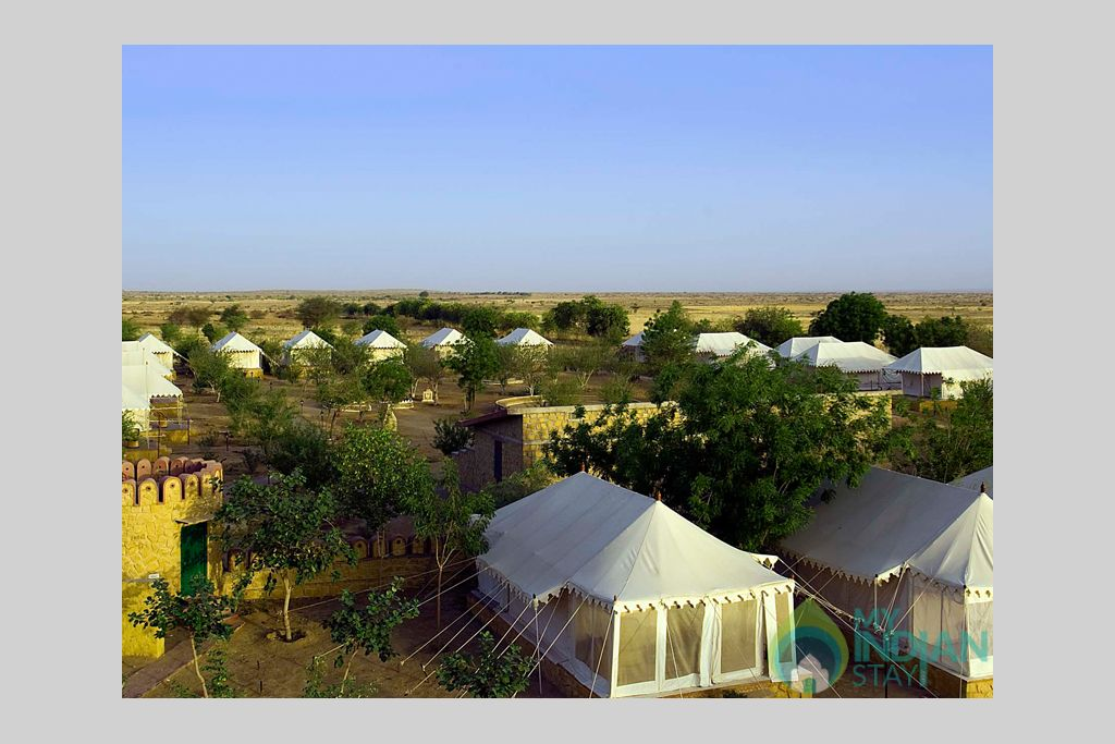 8-Standard-Camp-View in a Tents in Jaisalmer, Rajasthan