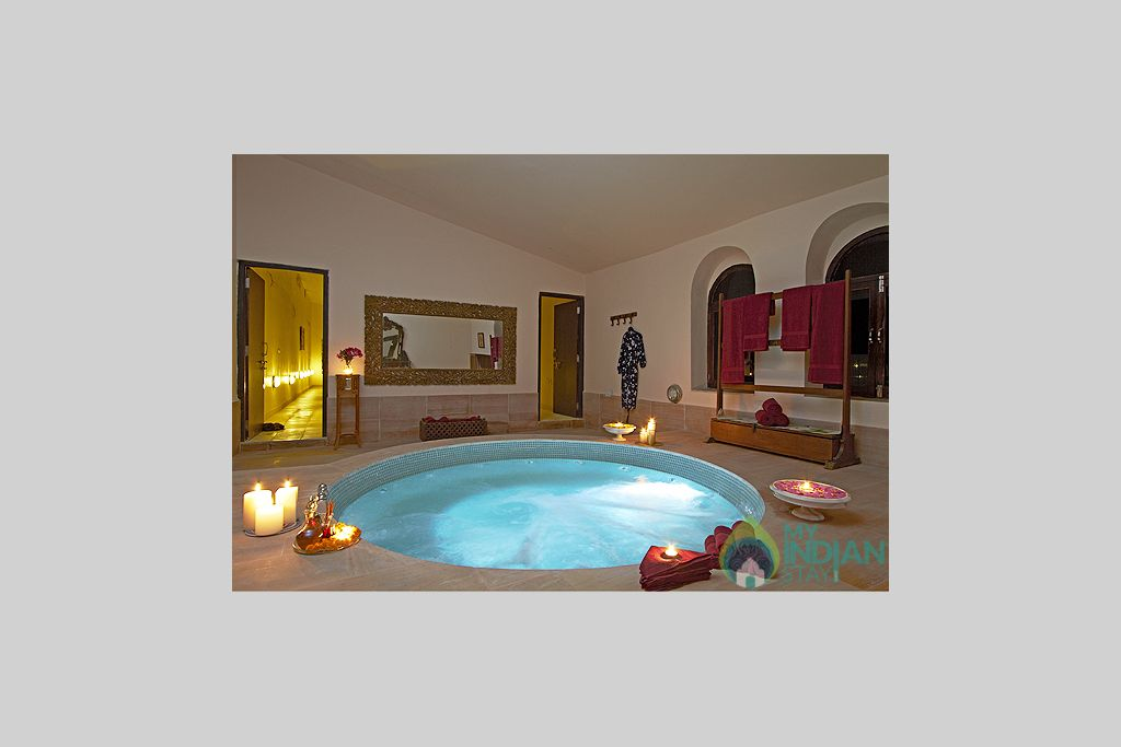 Spa-Facility in a Tents in Jaisalmer, Rajasthan