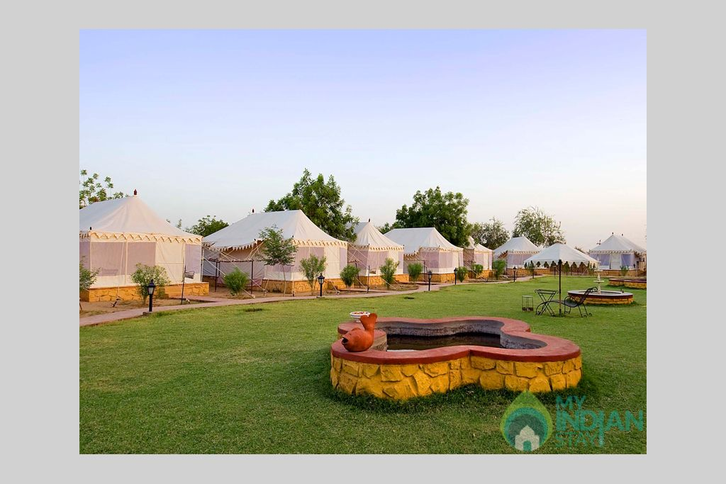 3-Deluxe-Tents-at-Resort in a Tents in Jaisalmer, Rajasthan