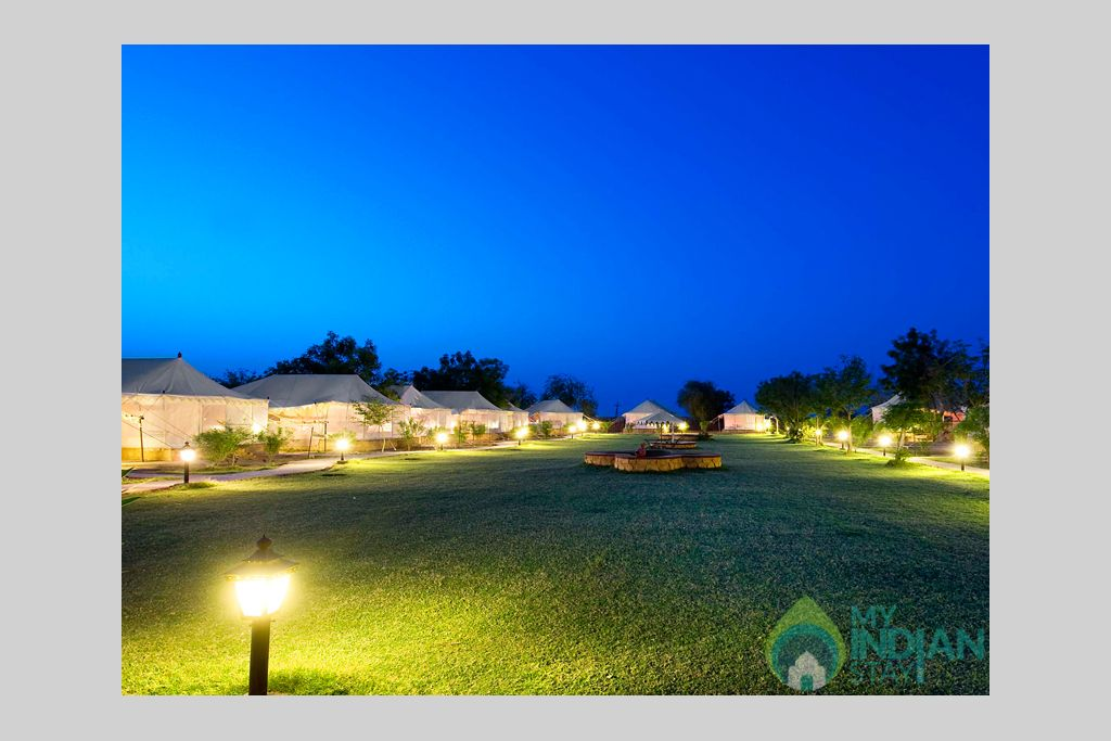 4-Deluxe-Tent-area-in-Resort in a Tents in Jaisalmer, Rajasthan