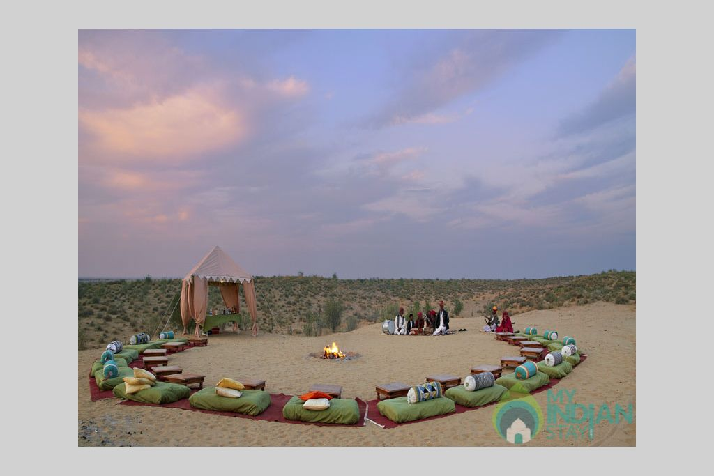 Mirvana-IMGs in a Tents in Jaisalmer, Rajasthan