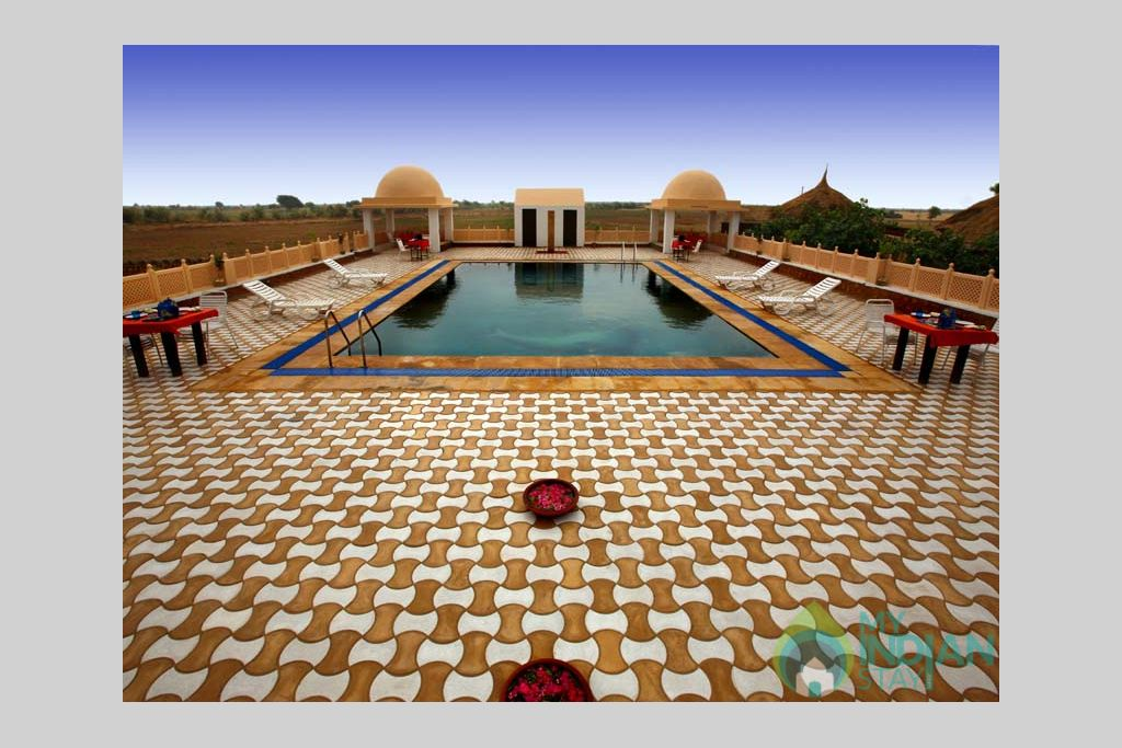 MIRVANA-NATURE-RESORT4 in a Cottage/Huts in Jaisalmer, Rajasthan