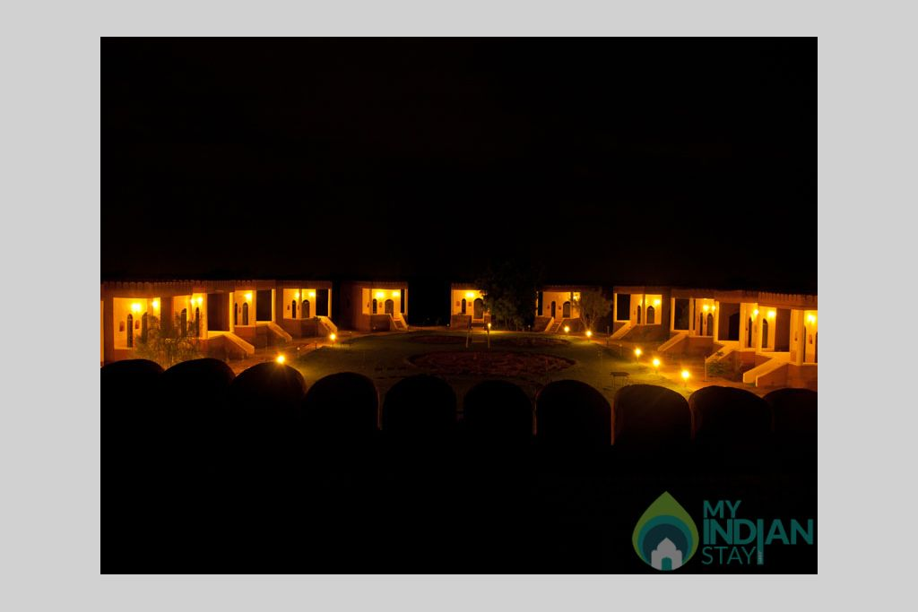 nights-mirvana in a Cottage/Huts in Jaisalmer, Rajasthan