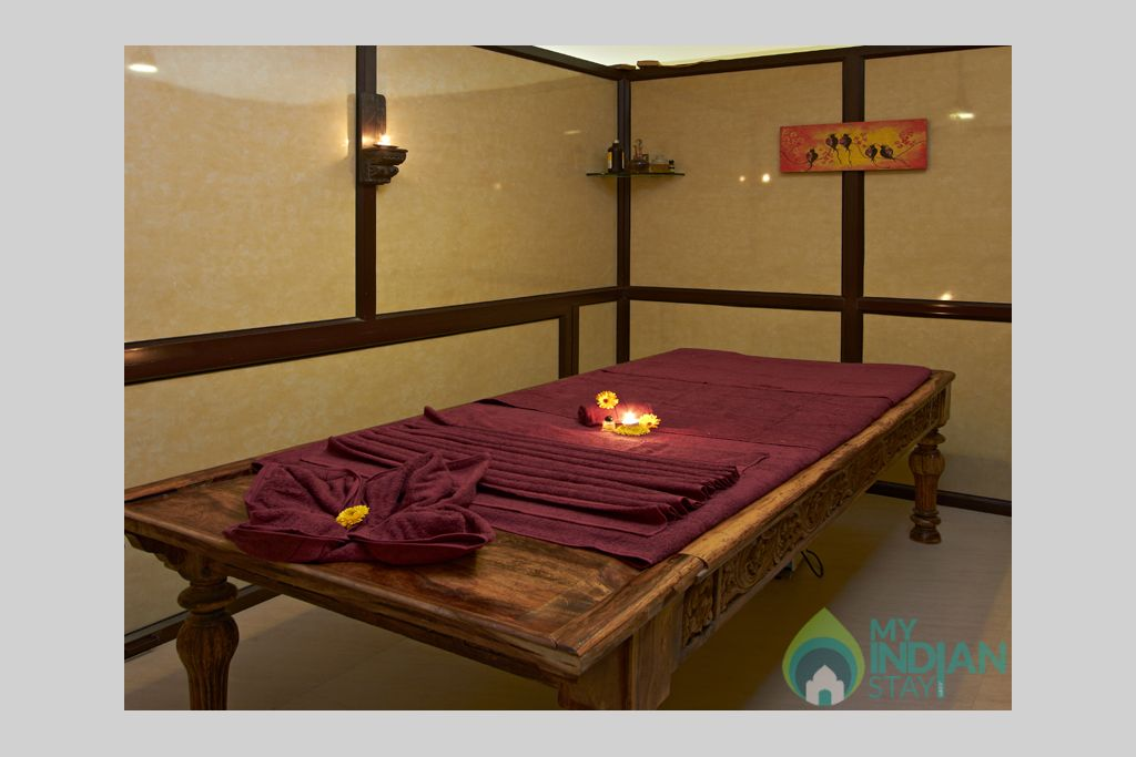 Mirvana-spa-room in a Tents in Jaisalmer, Rajasthan