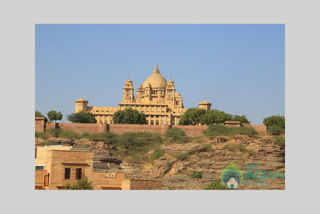 Terrace-3 in a Bed & Breakfast in Jodhpur, Rajasthan