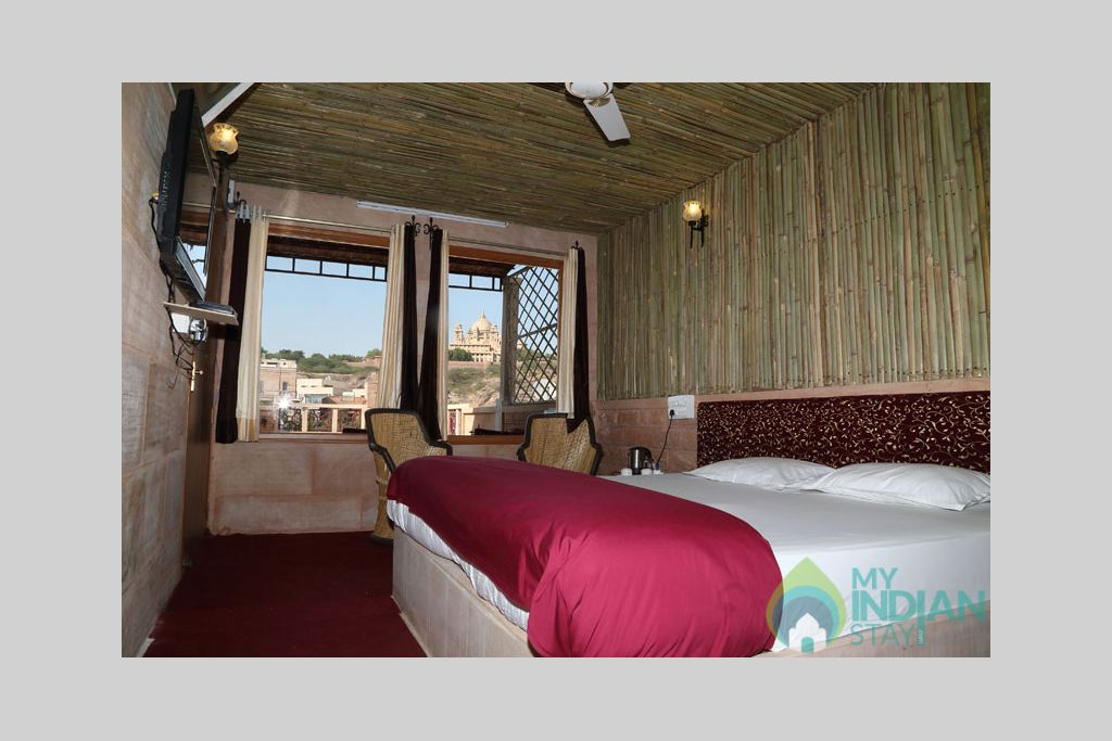 Palace-View-Room-2 in a Bed & Breakfast in Jodhpur, Rajasthan