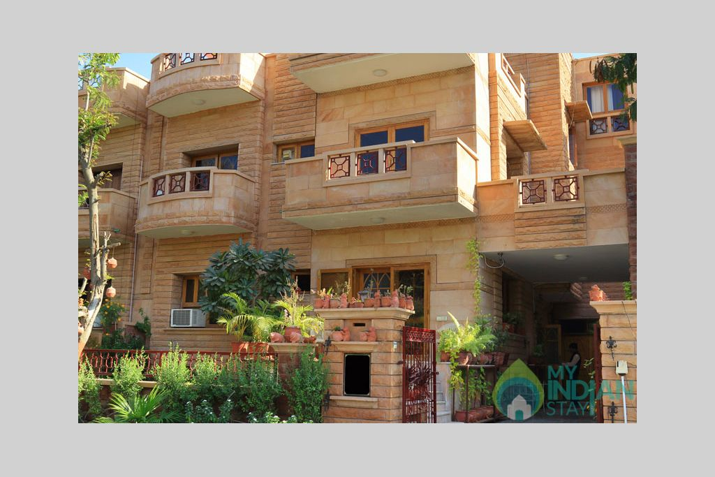 Front-Apnayt-1 in a Bed & Breakfast in Jodhpur, Rajasthan