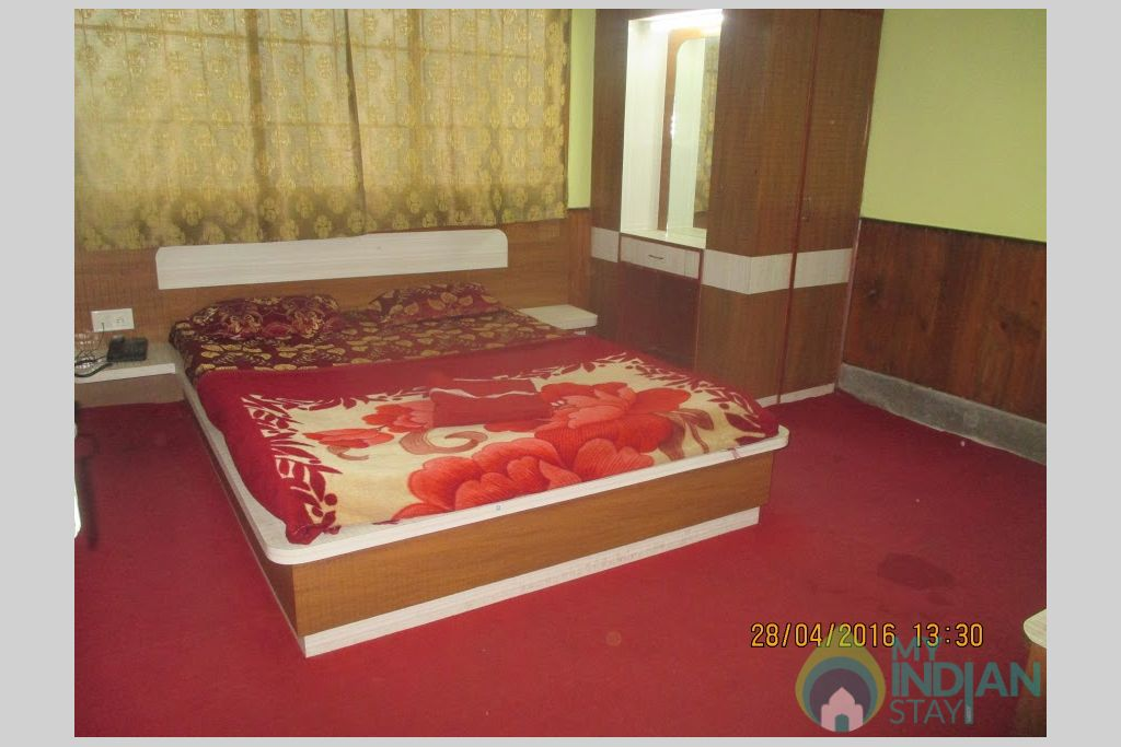 DLX DBL in a Guest House in Gangtok, Sikkim