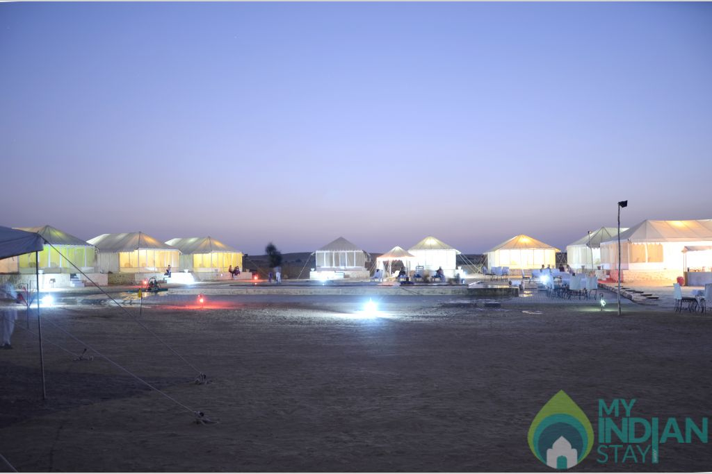 Le Royal Camps in a Tents in Sam, Rajasthan