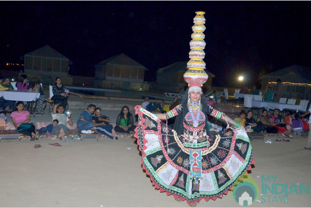 Cultural Program in a Tents in Sam, Rajasthan