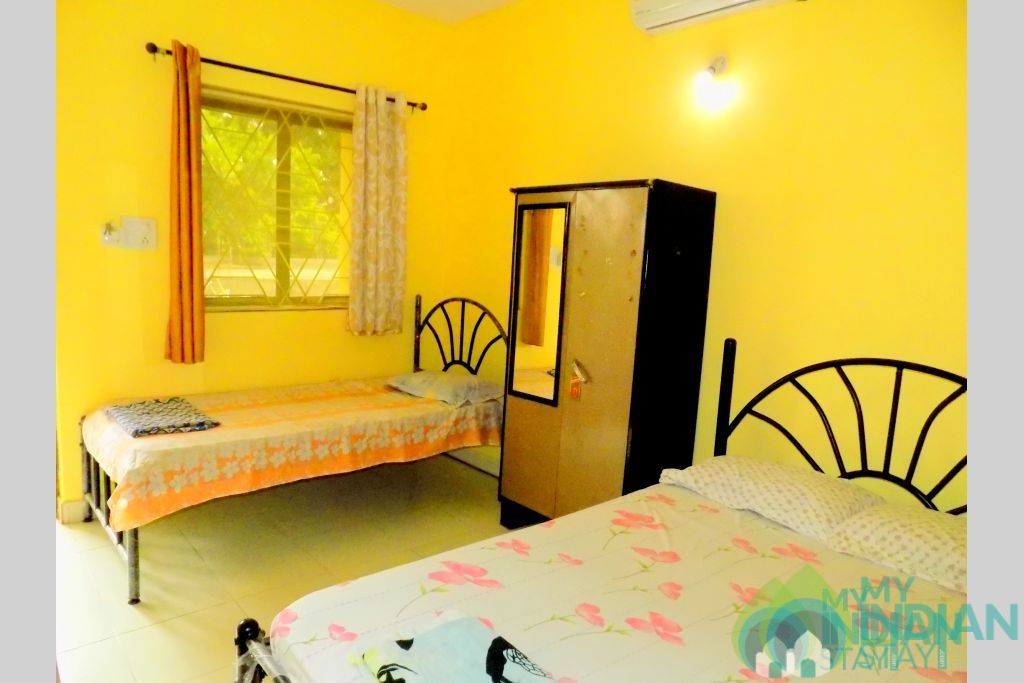 Superior Room in a Guest House in Anjuna, Goa