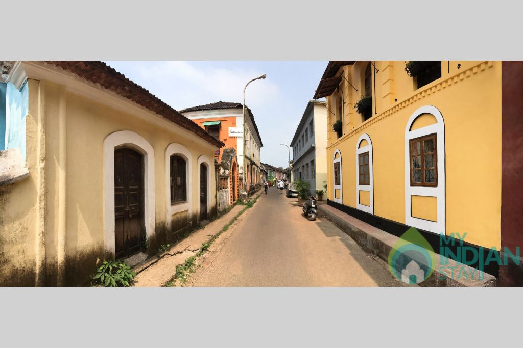 Street View in a Bed & Breakfast in Panjim, Goa