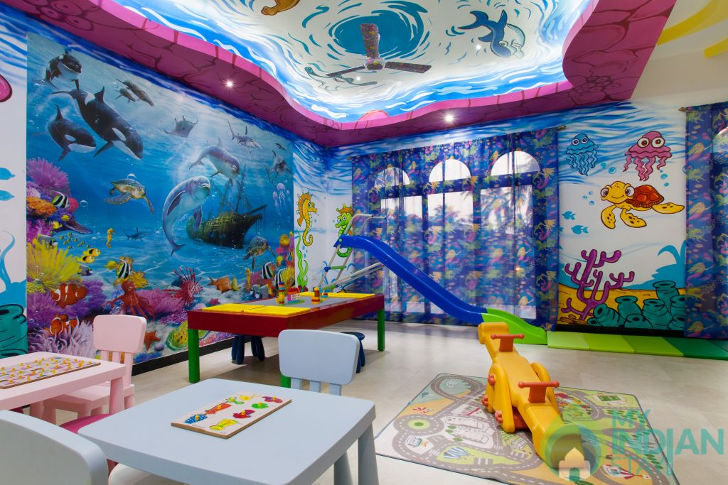 Kids Playroom in a Villa in Calangute, Goa