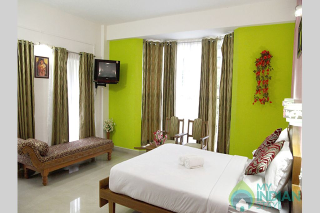 Honey_Moon_Suite in a Guest House in Munnar, Kerala