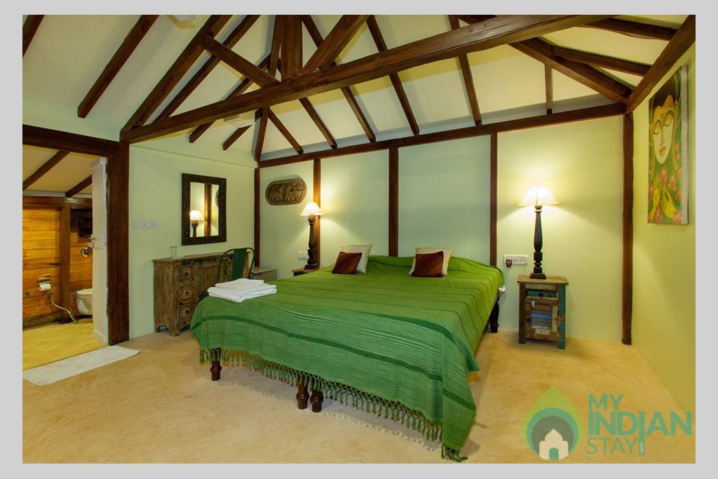 Intreior in a Cottage/Huts in Mandrem, Goa