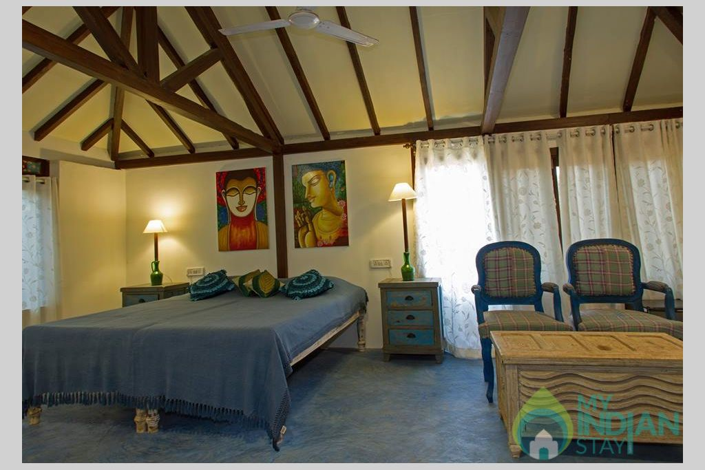 Interior in a Cottage/Huts in Mandrem, Goa