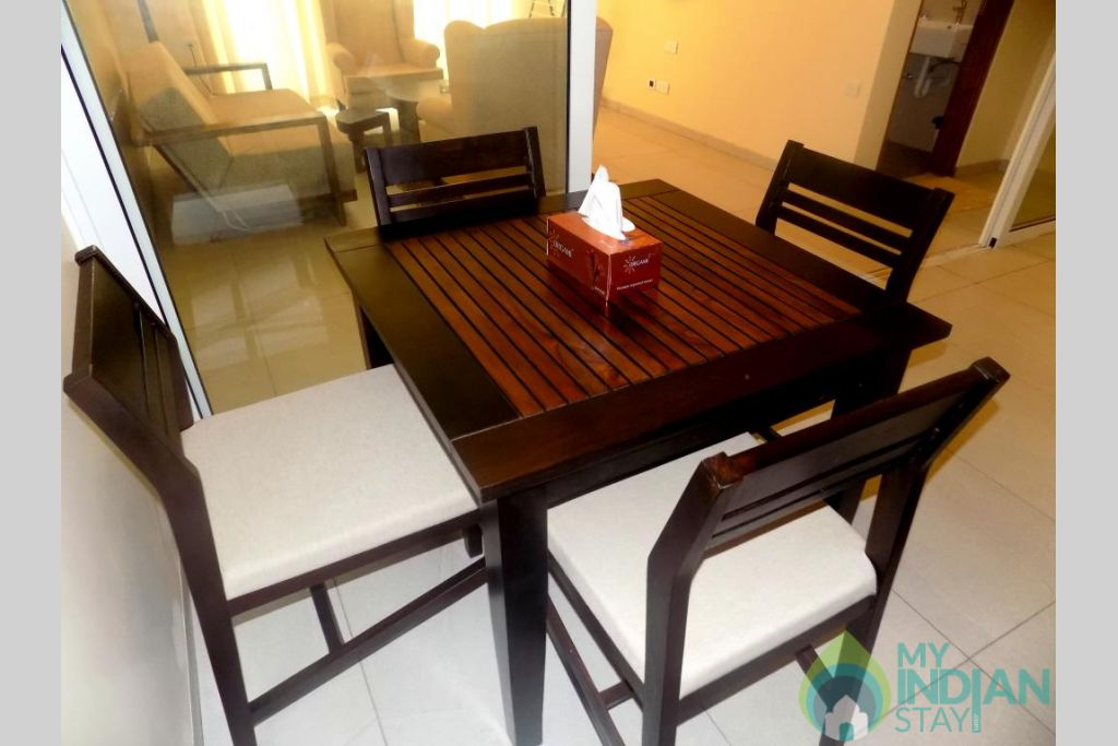 4 in a Serviced Apartment in Candolim, Goa