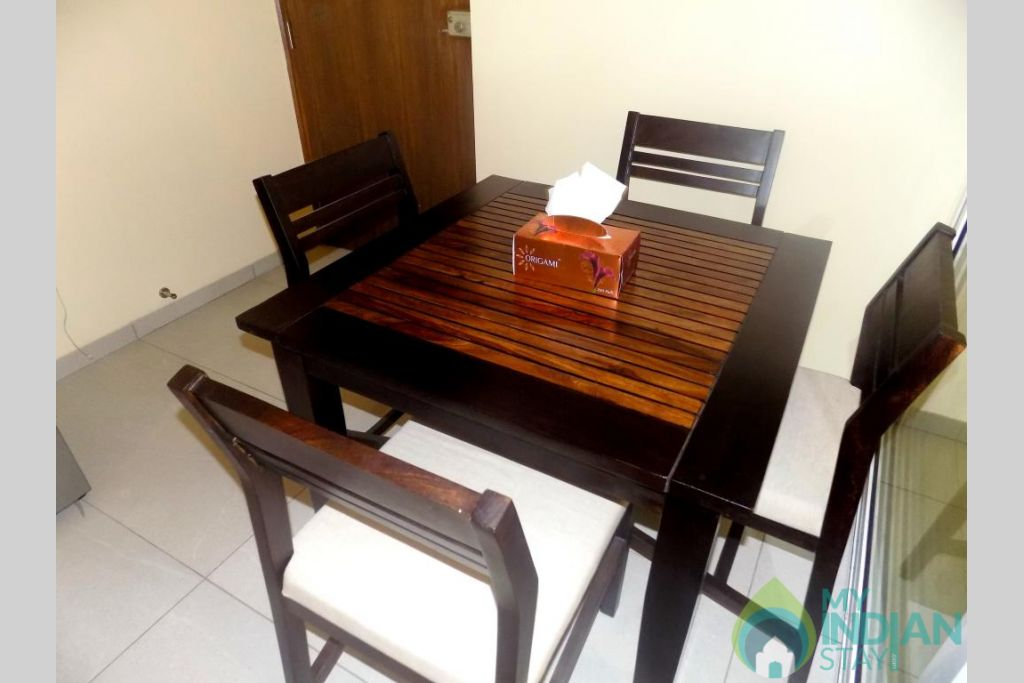 6 in a Serviced Apartment in Candolim, Goa