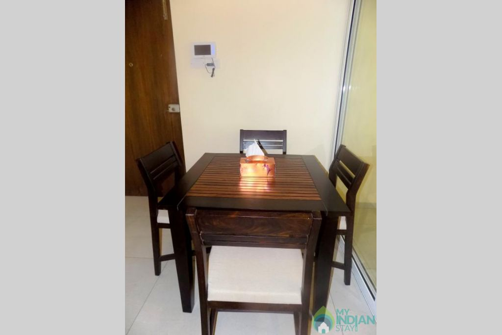 7 in a Serviced Apartment in Candolim, Goa