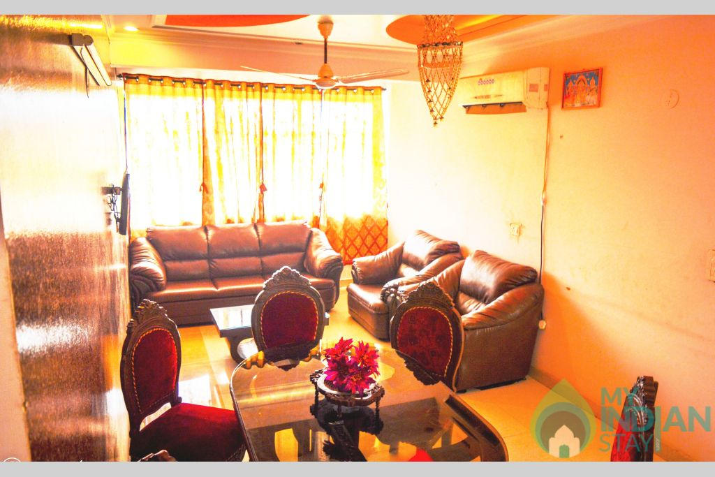 2bhk drawing 1 in a Serviced Apartment in Canacona, Goa