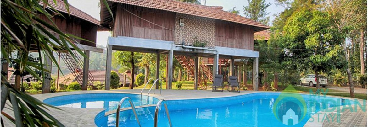 Breeze cottages with swimming in wayanad