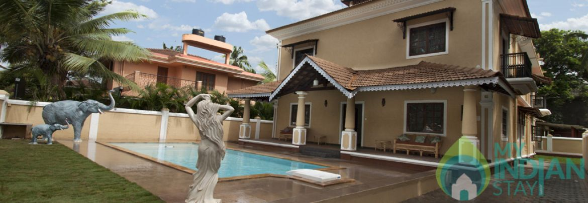 phase 5 villa with Private pool Villa in Calangute
