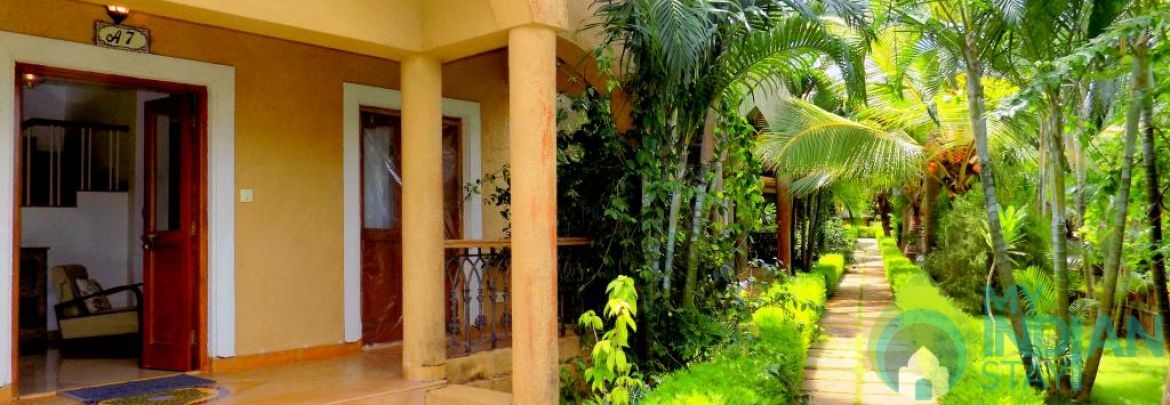 Enchanting Villa near Anjuna Beach