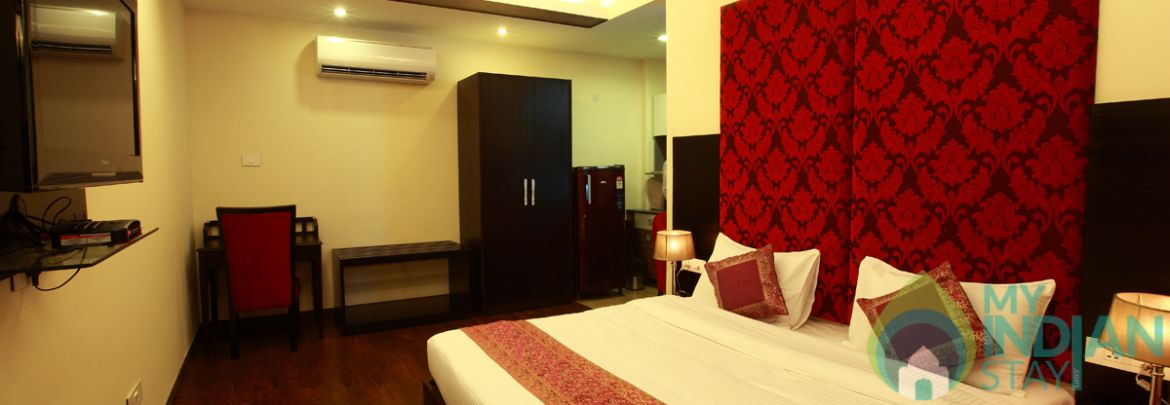Deluxe in a Guest House in New Delhi