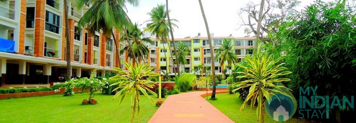 ♥TROPIC♥ Apartment with Pool @ Candolim