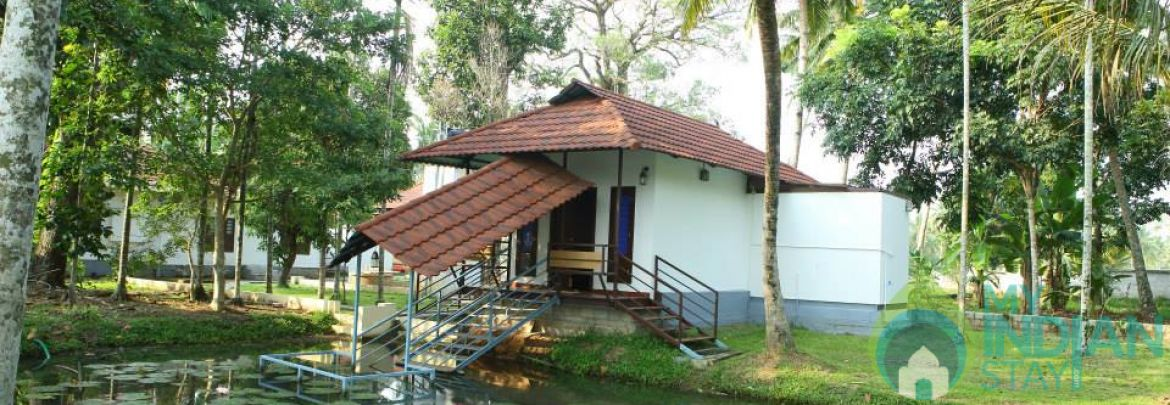 River View Deluxe Cottage In Alleppey