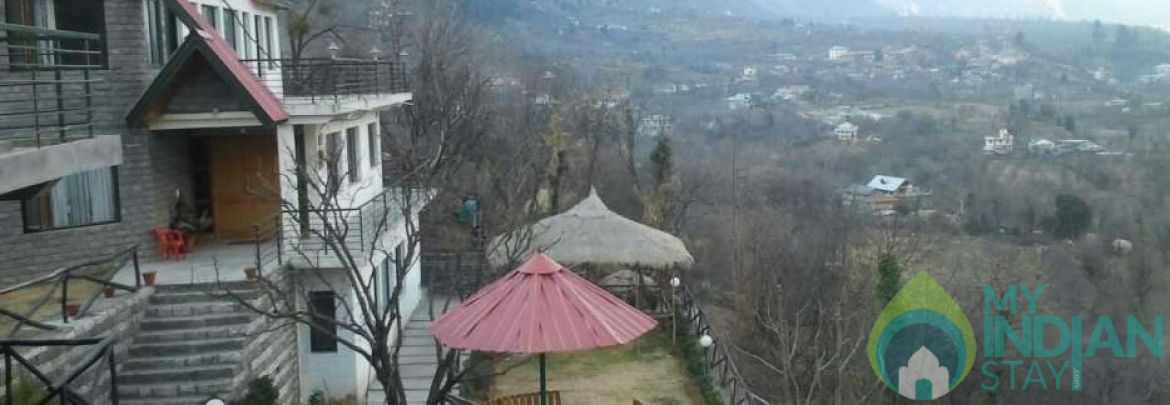 Cottage on Kullu-Manali highway for lease
