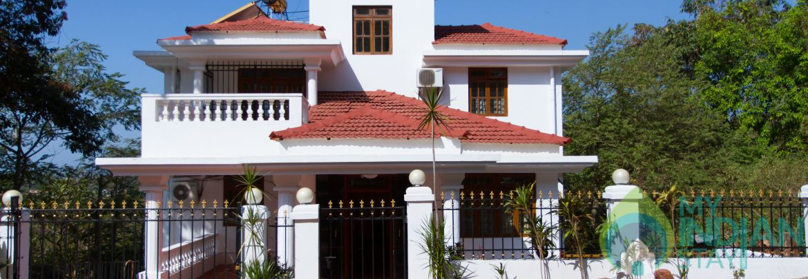 The Villa On The Hill In Candolim