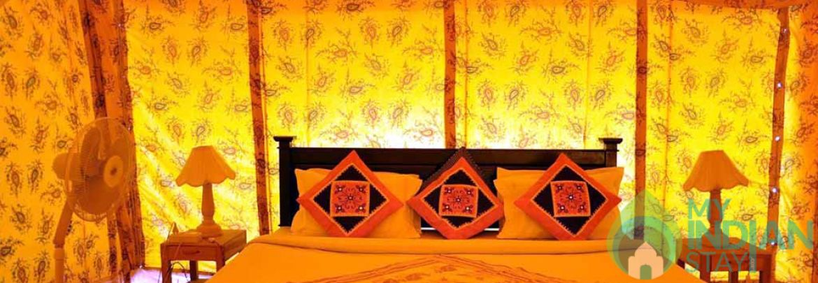 Deluxe Luxury Tents In Jaisalmer, Rajasthan